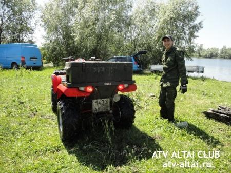 Покатушки в с. Расказиха, Барнаул