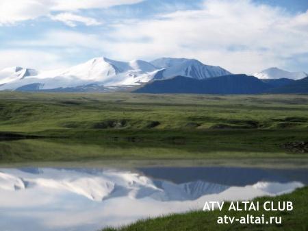 Экспедиция на Плато Укок, Республика Алтай, на квадроциклах